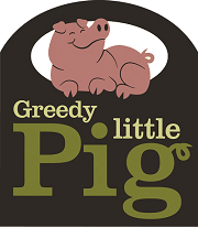 Image of GREEDY LITTLE PIG