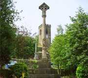 Image of KIRKBURTON WAR MEMORIAL AND GARDENS